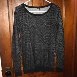 NEW LISTING!! Snakeskin Patterned Sweater